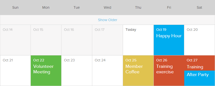 Event Calendar Event Registration Membershipworks
