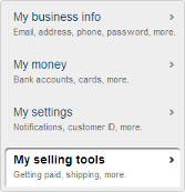 Paypal Selling Tools
