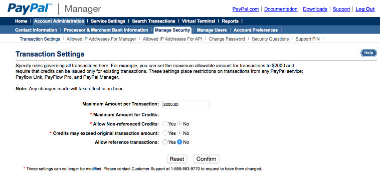 Setting up Paypal Payflow Pro - MembershipWorks