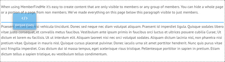 Hide Content from Non Members on Weebly, SquareSpace and HTML5