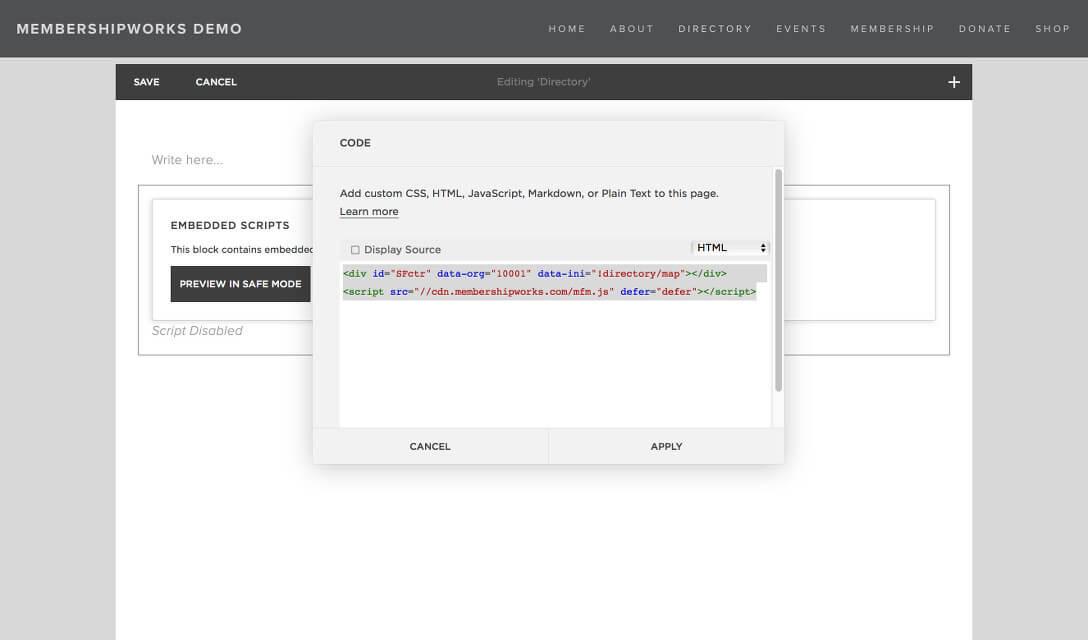 squarespace membership plugin
