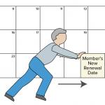 Extend date