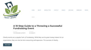 fundraising authority